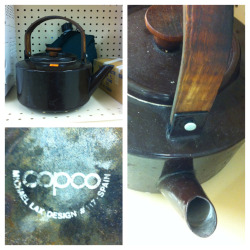 Teapot by Michael Lax for Copco, 1960s. #LeftBehind #ThriftBreak