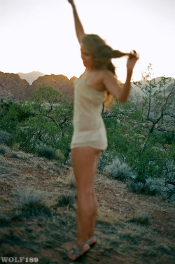 desert sunset in motion : Miss K @ Ford by Wolf189 (@wolfphoto) . Models , Order Prints , FAQ , about Wolf189 ,  Archive , Most recent videos