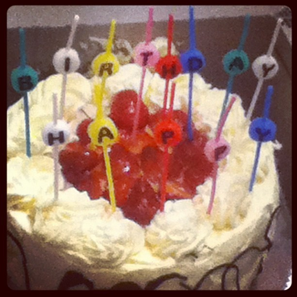 #BirthdayCake #Caroline #foodupload  (Taken with Instagram at Morningside Manor)