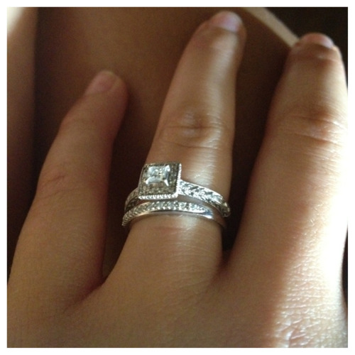 femmefoxtrot:  Love this picture of my rings :)