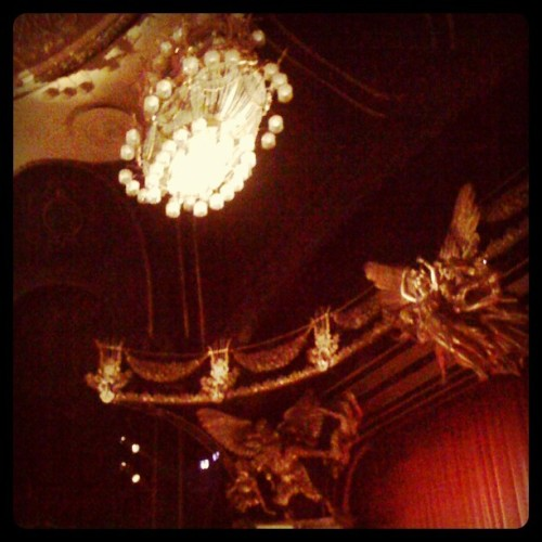Majestic Theatre- Phantom of the Opera! (Taken with Instagram)