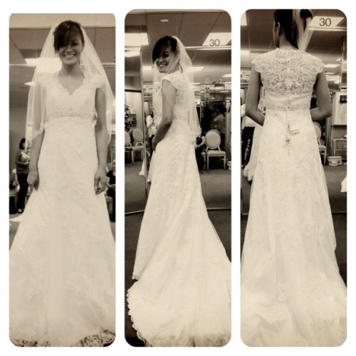 Dress 4! #wedding #dresses #davidsbridal #florida #igersmanila #igers  (Taken with Instagram)