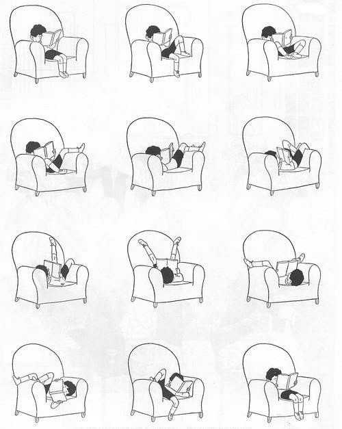 quirkbooks:  So many ways to read.