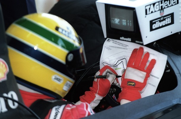 itsawheelthing:  what we miss … pen & paperAyrton Senna, Marlboro McLaren-Honda MP4/7, 1992 South African Grand Prix, Kyalami