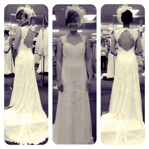 Dress 6! #wedding #dresses #davidsbridal #igersmanila #igers #florida  (Taken with Instagram)