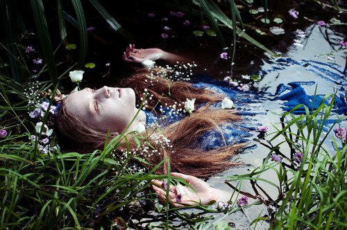 bone-camarrow:  ophelia (by mariehochhaus)