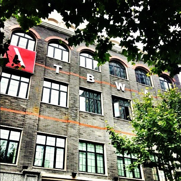 The new TBWA Shanghai office #tbwa #office #shanghai #china #advertising #asia (Taken with Instagram)