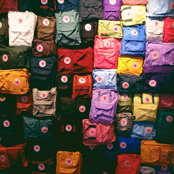 Such a vivrant thing! @fjallraven @factorypr (Taken with Instagram)