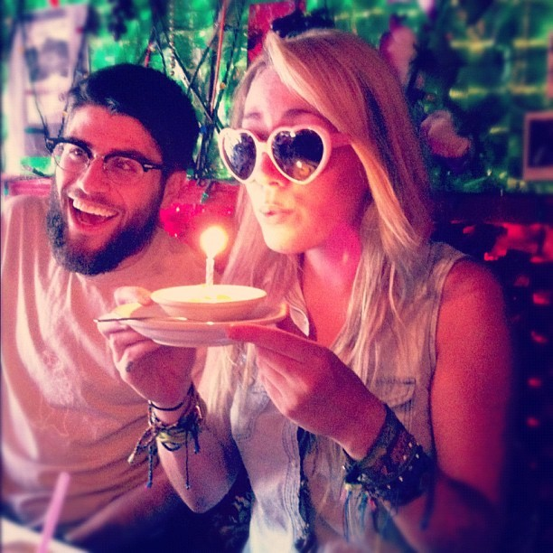 A VERY MERRY UNBIRTHDAY TO ME (Taken with Instagram at Panna II Garden Indian Restaurant)