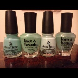 #nails #nailpolish #nailpolishes #beauty #forever21 #chinaglaze (Taken with Instagram)