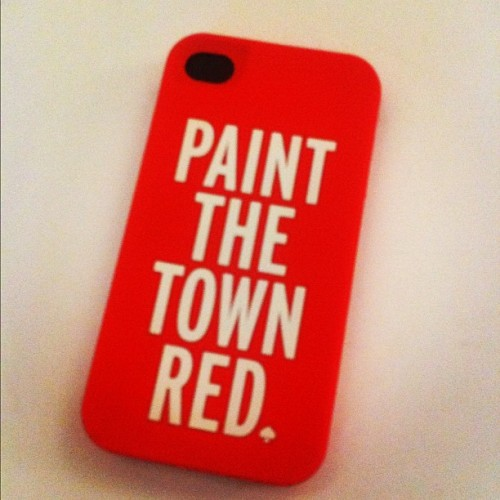Love this new iPhone case from Kate Spade NY that just arrived! (Taken with Instagram at Handbags.com HQ )