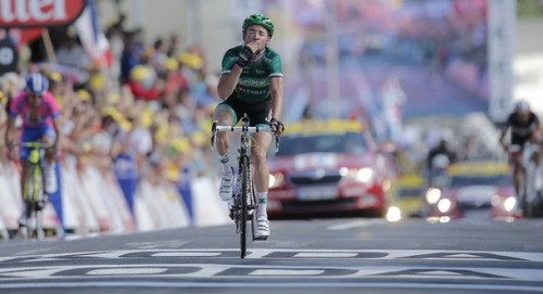 I don't care what anybody says. Voeckler rode his heart out today. It was fantastic to watch.