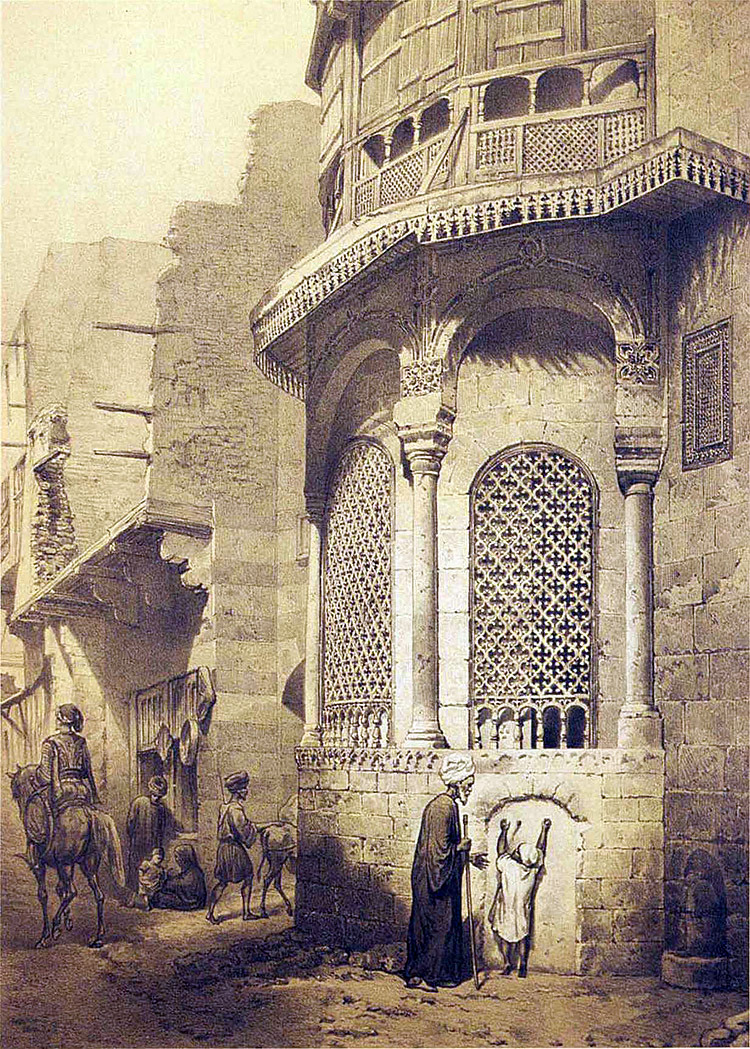 The Ahmad Husain Marjust Fountain in Cairo - Prisse d'Avennes