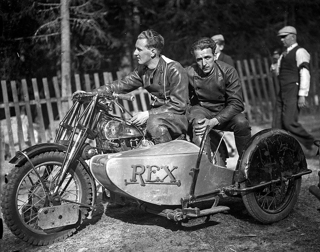 gibsart:  Rex OHV Super Sport , 1936 by Länsmuseet Gävleborg on Flickr.