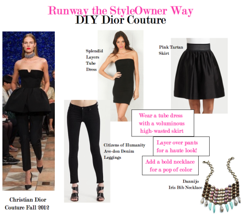 Runway the StyleOwner Way