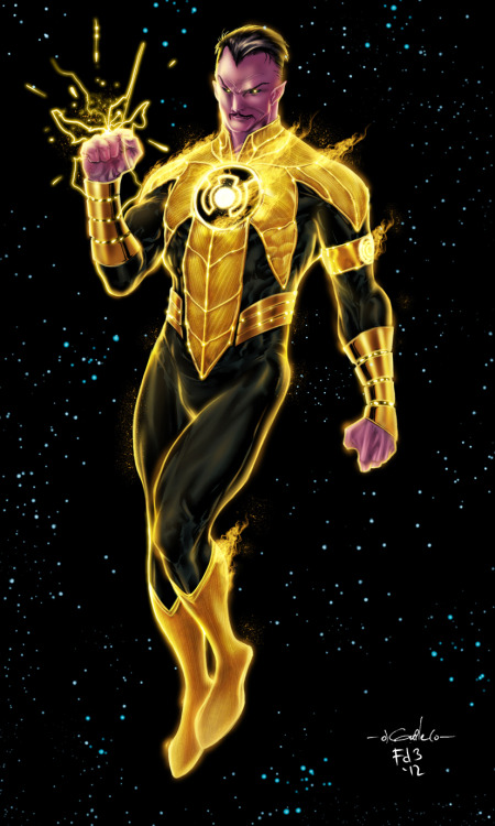 dr-killjoy:  Sinestro by Spiderguile and Florencio Duyar III