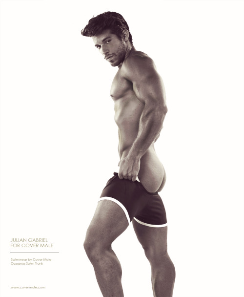 Julian Gabriel for Cover Male