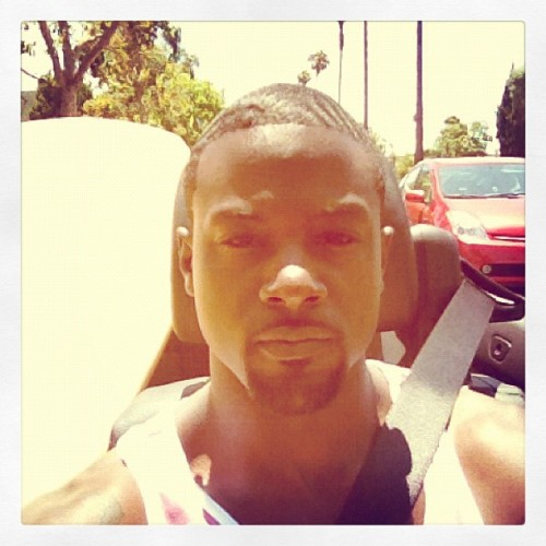 Top back, Surfboard & palm trees… It's hot as hell in LA (Taken with Instagram)