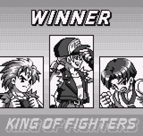 King of Fighters R-1, Neo Geo Pocket.