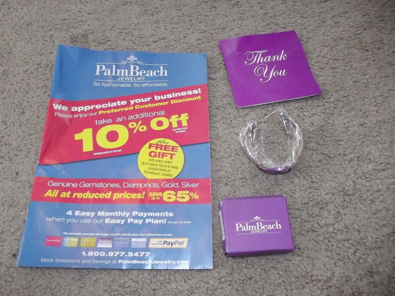 Palm beach jewelry haul here on my blog. Plus a free gift card!