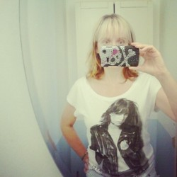 Fabulous Tshirt I found today at #HM #PattiSmith #rocks #MyIdol (Taken with Instagram)