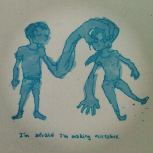 #doodles #mistakes (Taken with Instagram)