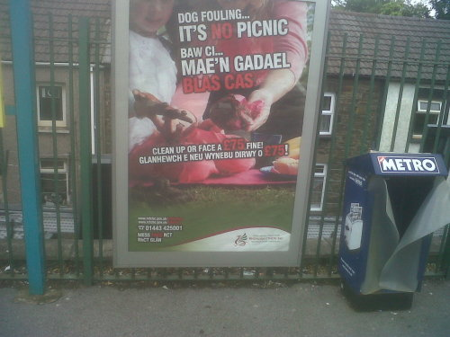 DOG POO PICNIC: saw this poster advertising a dog poo picnic, i think its safe to say the dog poo got everywhere! its a disgusting image but definatly worth a quick chuckle, enjoy…..