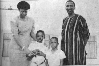 Thomas Sankara and his family