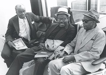 Three Giants-John Henrik Clarke, Dr. Ben, and Chancellor Williams