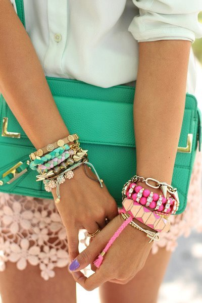 i want all of the arm candy!