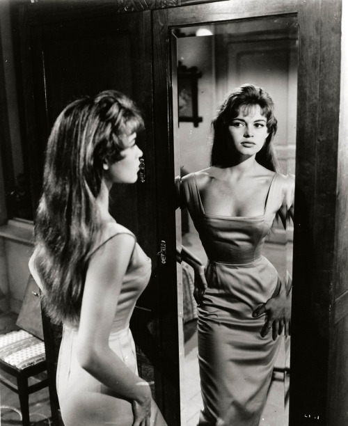 theniftyfifties:  Brigitte Bardot in 'The Light Across the Street', 1955.