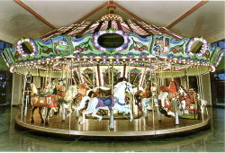 life is like a carousel.