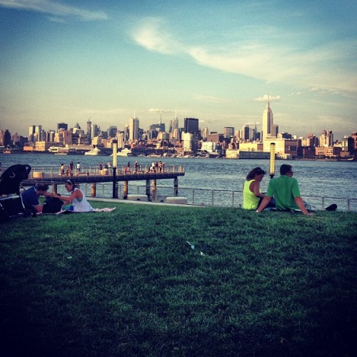 #nyc #skyline #hobokenview  (Taken with Instagram)