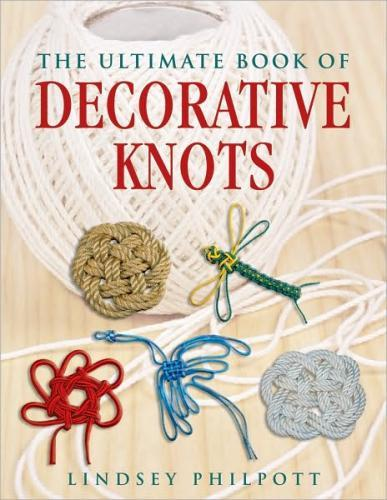 """The ultimate book of decorative knots"" arrived today! Happy library christmas!"