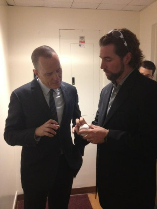 sportsnetny:  @Mets: @RADickey43 shows @BryanCranston from ‪Breaking Bad‬ how to throw a knuckleball after taping @Late_Show   Can't.  Handle.  All.  The.  Awesomeness.