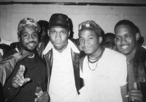 Mike G ( Jungle Brothers ) - KRS-1 - Q-Tip & Lovebug Starski