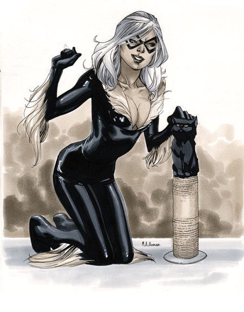 Comic Con Paris 2012 - Black Cat Pre-Show Commission
