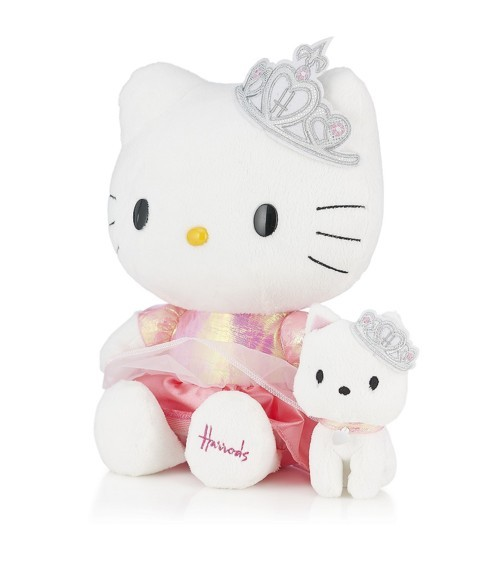 Harrods Diamond Jubilee Special Edition Hello Kitty.  (And yes, I bought one for the girls.)