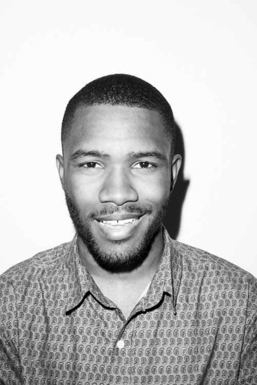terrysdiary:  Frank Ocean at my studio #2