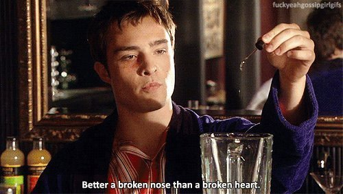 But then again, I'm no Chuck Bass