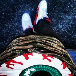 lougzgee:  #Mishka tiger camo and shit (Taken with Instagram)