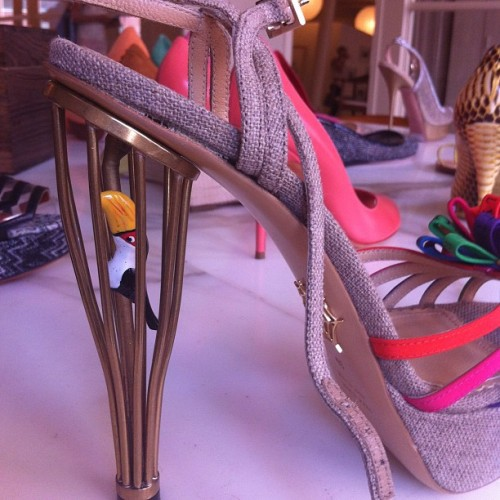 elle:  .@charlottes_web knows why the caged bird sings (Taken with Instagram)  Want so hard. Fashion heart attack.