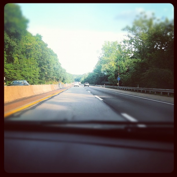 The PA Turnpike…. #phillybound #abovetheweather (Taken with Instagram)