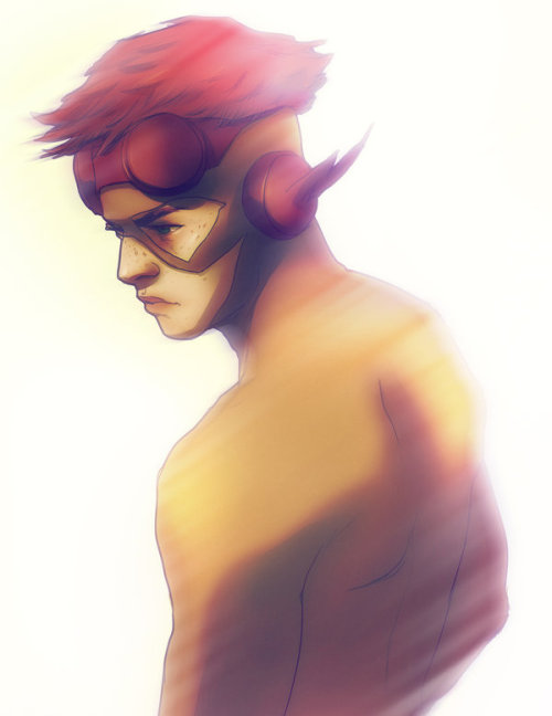 misandrie:  Kid Flash by *andrahilde