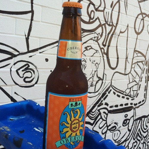 Good #summer #beer #oberon (Taken with Instagram)