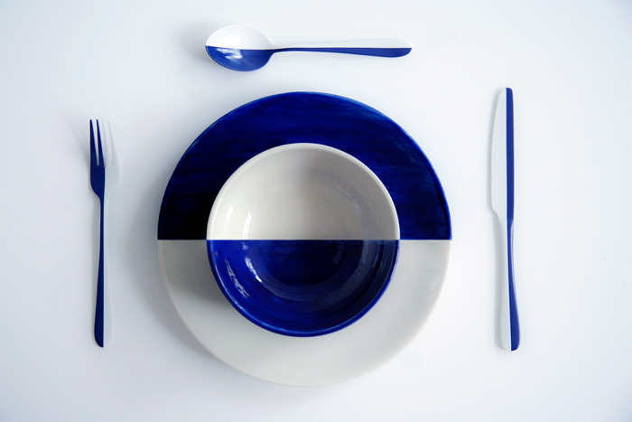 SUBMISSION: Contrastware is inclusive tableware designed with consideration to visually impaired. Design: Sabina Weiss