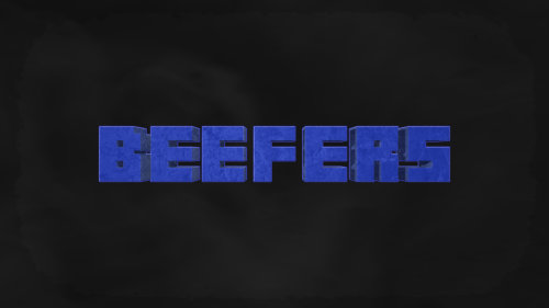 Finished Beefer's desktop background. He wanted a simple black background with mist or a fog lolI want to put more in it, but I dont know what. Though I guess this is it.