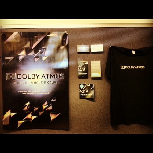 Letter? How about A for Dolby Atmos! #photoadayjuly (Taken with Instagram at Dolby Laboratories, Inc.)
