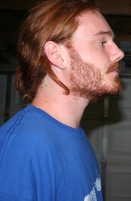 hairyredhead:  My hair must of made a beautiful wig.