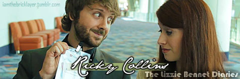 iamthebricklayer:  Mr. (Ricky) Collins | The Lizzie Bennet Diaries x